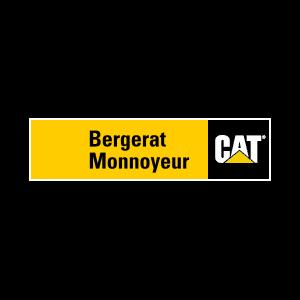 Koparki kołowe Caterpillar - Bergerat Monnoyeur